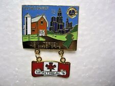 Lions Club Pin New Jersey The Garden State Multi Dist.16 Montreal 1979 Lion Pins