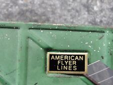 PRE WAR AMERICAN FLYER O GAUGE TRAIN CAR DECAL STICKERS - 1 SET of 4