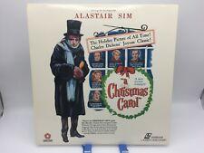 """""""A Christmas Carol"""" Extended Play Laserdisc LD - Alastair Sim"""