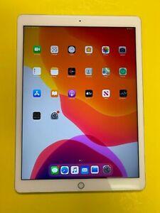 Apple iPad Pro 1st Gen. 128GB, Wi-Fi, 12.9 in - Silver - LCD Discolor