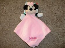 Disney Baby Minnie Mouse Pink Security Blanket Kids Preferred Plush Lovey NWT