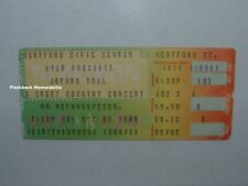 JETHRO TULL 1980 Concert Ticket Stub HARTFORD CIVIC CENTER Ian Anderson RARE