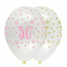 Ballons de fête roses anniversaire pour la maison