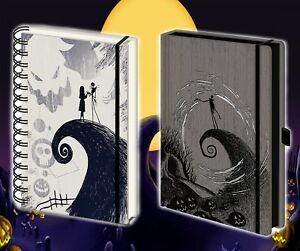 New Nightmare Before Christmas Premium A5 Notebook Journal Gift Official Lined