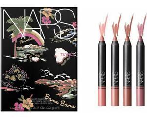NARS Naked Paradise Satin Lip Pencil Makeup Gift Set with Sharpener RRP £45