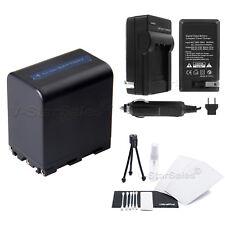 NP-FM90 Battery + Charger for Sony DCR-TRV10 TRV20 TRV230 TRV260 TRV30