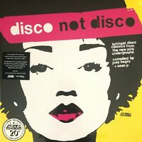 LIMITED * Disco Not Disco Strut 20th Anniversary * VINYL 3xLP SEALED * RSD 2019