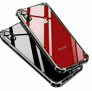 Case for iPhone 11 Pro SE 6 7 XR XS 5s ShockProof Soft Phone TPU Silicone Cover