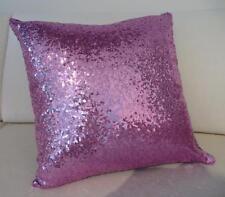Exquisite Sparkly Mauve-Pink Sequins European Cushion Cover 60cm