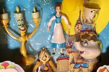 JusToys BEAUTY and the BEAST 5 Piece Gift Set BendEms #12293, CHIP EXCLUSIVE!