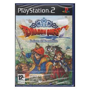 Dragon Quest: L'Odissea Del Re Playstation 2 PS2 Square Enix Sigillato
