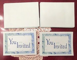 50 Party Invitations YOU ARE INVITED All Occasion Baby Birthday Retirement New