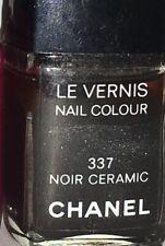 """CHANEL """"NOIR CERAMIC"""" #337 NAIL POLISH"""