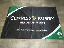 Guinness Rugby Flag, Six Nations  Brand New Double Sided *HUGE*