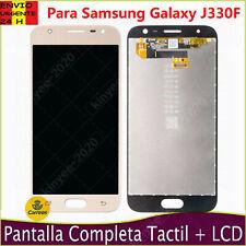 Pantalla Para Samsung Galaxy J3 2017 SM-J330F LCD Táctil Digitalizador Dorado