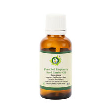 R V Essential Pure Red Raspberry Seed Oil Rabus Idaeus 100% Natural Cold Pressed