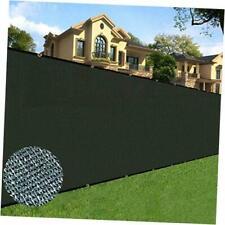 6 feet x 50 feet Privacy Screen Fence Heavy Duty Fencing Mesh Shade Net Cover f