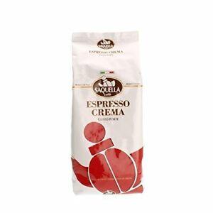 Saquella Bar Italia ESPRESSO CREMA Coffee Beans 1Kg