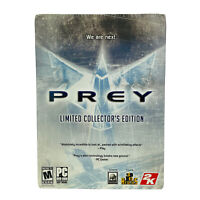 Prey: Limited Collector's Edition (PC, 2006) New Sealed Metal Box Set