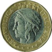 COIN / ITALY / 1000 LIRA 1997   #WT135