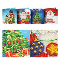 5D Chirstmas Gift DIY Diamond Painting Greeting Cards Birthday Xmas Party