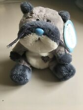 """Mack The Otter 4 """" Blue Nose Friend Number 46 BNWT"""
