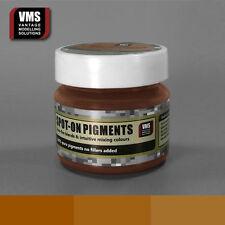 VMS SPOT-ON Pigment No. 08a Light Iron Oxide Rust 45 ml model weathering powder