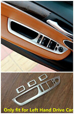 Stainless steel interior door cover armrest trim 4pcs For BMW X5 E70 2007-2013