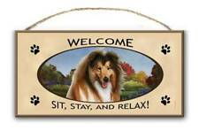Collie - Welcome Sign