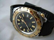 Squale Watch quartz 200 mt - vintage, bicolor