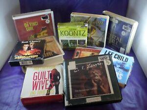 CD Audiobooks, Many Titles & Authors, Abridged & Unabridged * Buy 2 - 25% off *