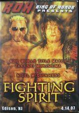 ROH Wrestling: Fighting Spirit DVD, Takeshi Morishima