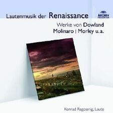 KONRAD RAGOSSNIG - LAUTENMUSIK DER RENAISSANCE  CD NEU