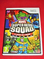 MARVEL - Super Hero Squad - Le Gant de l'Infini  - Jeu WII/WII U sans notice