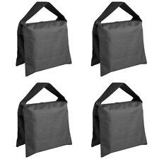 4 Black Photography Studio Stage Film Light stand Sandbags 4 Packs Set