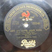 Van Eps Banta Trio - PATHE 22346 - Left All Alone Again Blues