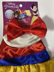 Rubies Disney Princess Snow White Small Pet Costume Kitten, Guinea pig, One Size