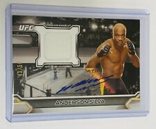 2016 TOPPS UFC KNOCKOUT - RELIC AUTO #42/50 - ANDERSON SILVA