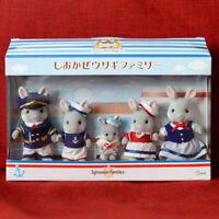 Sylvanian Families SEA BREEZE RABBIT FAMILY Yokohama Calico Critters Japan