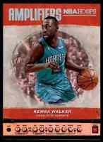 2018-19 NBA HOOPS AMPLIFIERS KEMBA WALKER CHARLOTTE HORNETS #AMP-8 INSERT