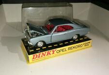 DINKY TOYS France OPEL REKORD Coupé 1900 Réf 1405 + boîte d'origine Mint in box