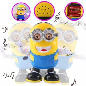 Toys Despicable ME3 Minion Dancing Robot Kids Educational Toy For Children Play
