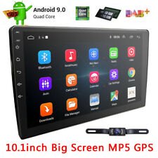 Double 2Din 10.1 inch Android 9.0 Quad Core Car Radio In Dash Stereo GPS BT Cam