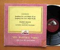 CLP 1090 Schubert Symphony no. 3 & 6 Harry Blech London Mozart Players HMV Mono