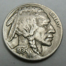 "1936 D Indian Head ""Buffalo"" Nickel *Good Or Better* *Free Shipping*"