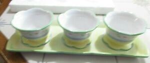 Princess House 4 Pc Condiment Set 1451