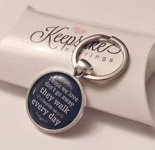 Those We Love Keyring - Bereavement Present Memorial Memory Loss - Gift Box