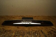 2011 12 2013 Jeep Grand Cherokee Rear Trunk Trim w/Camera Hole Chrome OEM USED