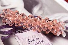 Edle Luxus Haarspange mit Swarovski Kristall Tropfen (A) NEU + Viel mehr im Shop