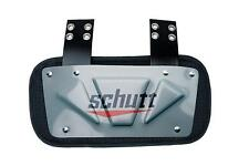 Schutt Sports Football Backplate for Shoulder Pads Gray adult